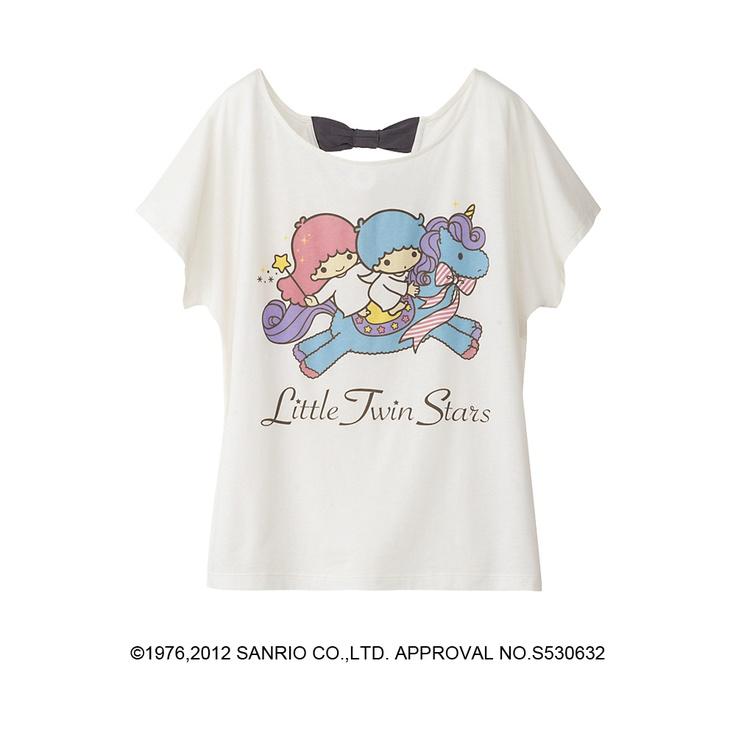 【2012】SANRIO x uniqlo - T-shirt ★Little Twin Stars★