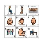 A new spin on the game Sorry.  When teaching classroom rules, use these cards rather than the original game cards. Autism Clasroom Ideas