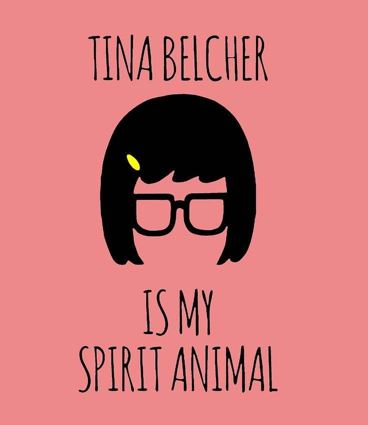 Tina Belcher Spirit Animal by laelahumaira