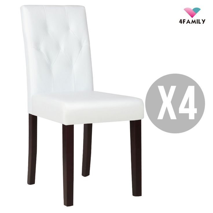 Best 25+ White leather dining chairs ideas on Pinterest   Leather ...