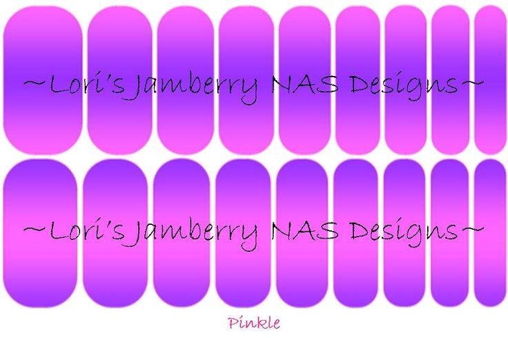 Jamberry NAS Pinkle
