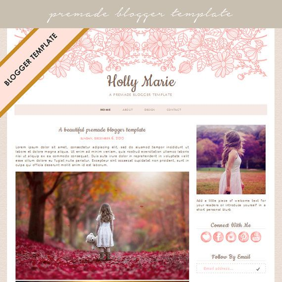 The 27 best Blogger Templates images on Pinterest Blogger