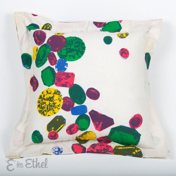 Russell Leonard Large Cushions | E for Ethel