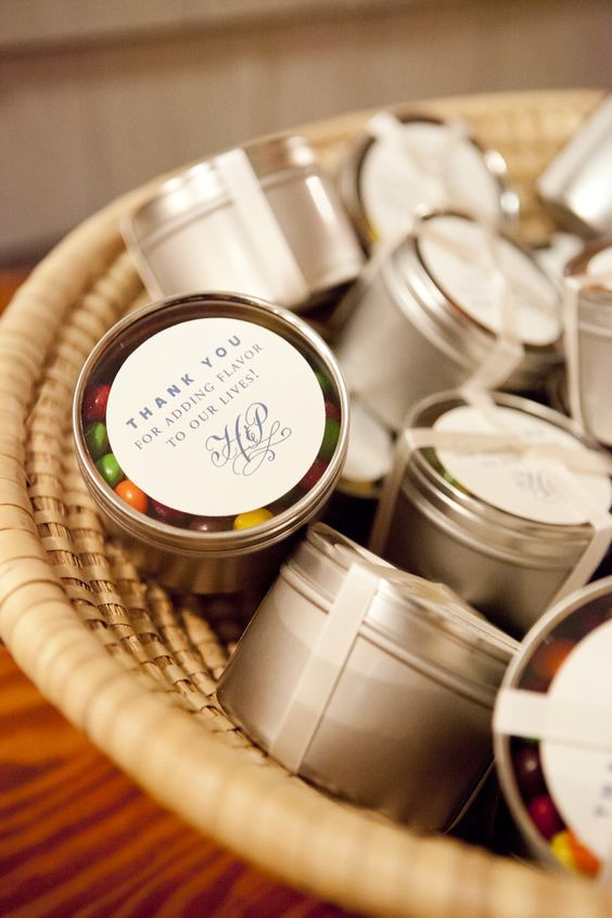 Wedding Favors: Sweet and Simple Thank You's | Top 10 edible wedding favors