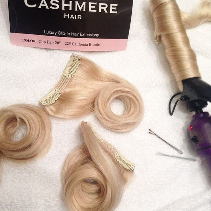 Easy Trick For Long Lasting Curl Hold | Cashmere Hair Clip In Extensions