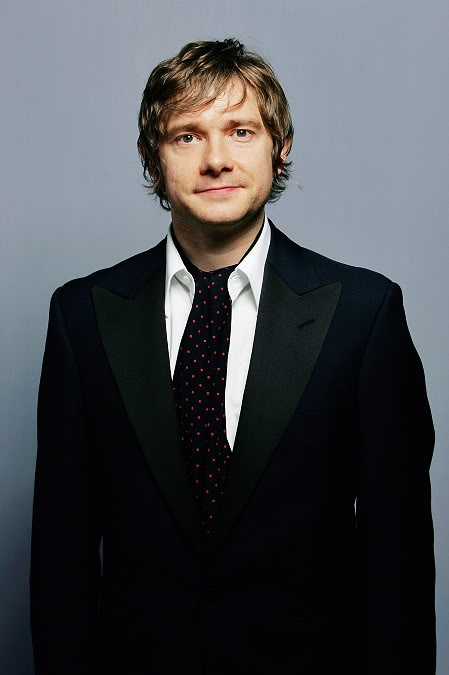 Oh Martin :) I read that he's 5'6. That makes him the perfect height for a snog. <3