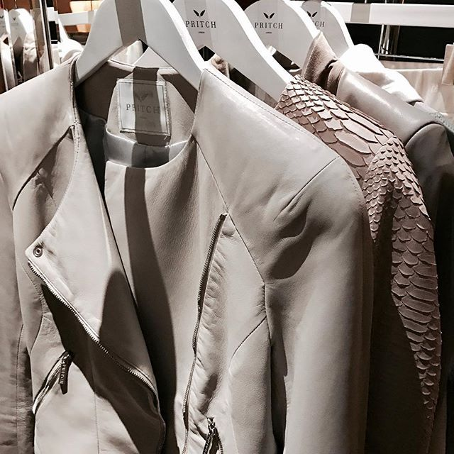 Go nude in leather 🙌🏻 #pritchlondon #rtw #readytowear