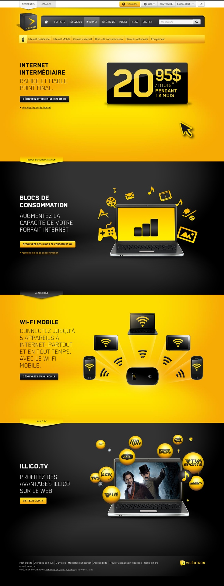 Videotron / Internet | repinned by www.BlickeDeeler.de