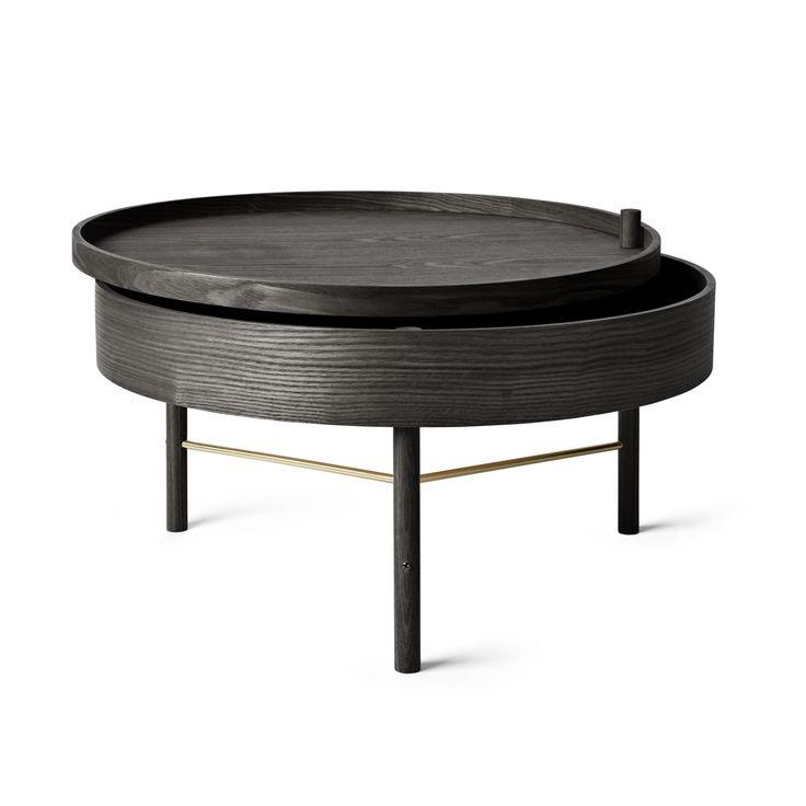 Table basse TURNING noir - MENU                              …