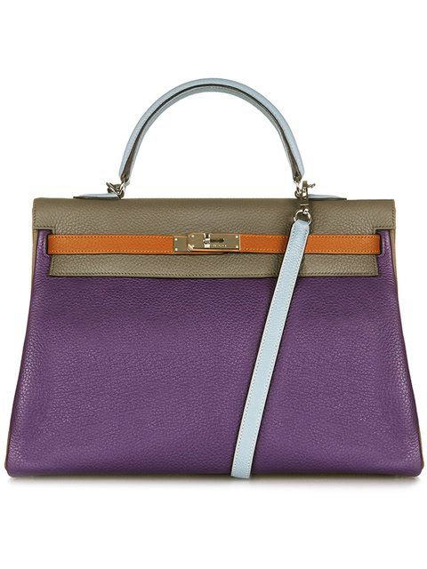 56bacc70ef64 Hermès Vintage Ltd Edition Harlequin 35 Kelly Bag