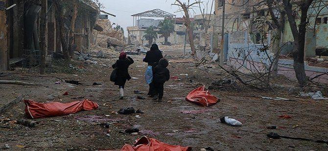 """""""Halep'te 2. Dünya Savaşı'ndan bu yana en büyük katliama tanık olabiliriz"""""""