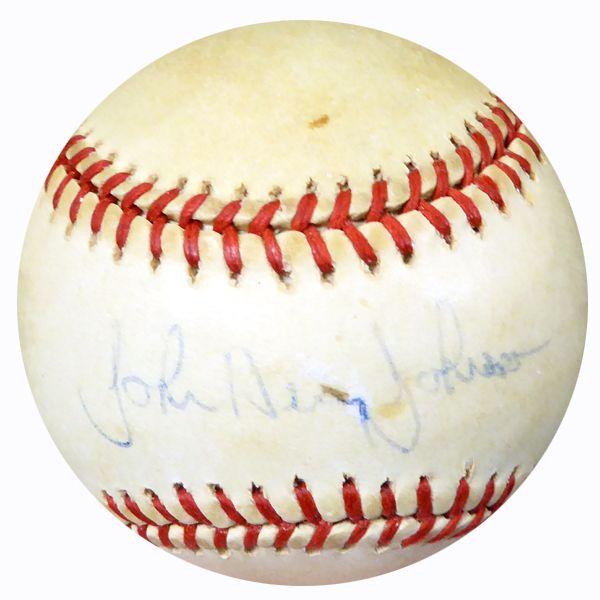 John Henry Johnson Autographed Official AL Baseball Red Sox PSA/DNA #AC23100