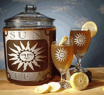 Vintage Sun Tea Jar & Tea Glass Sets