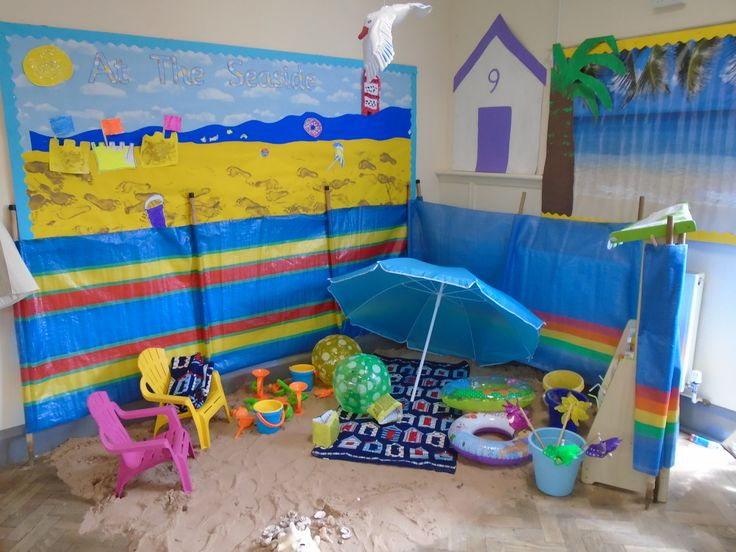 Beach role play area!