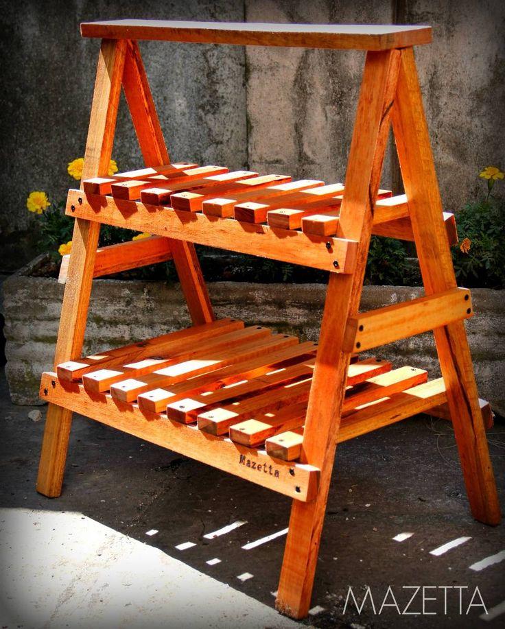 Caballete de madera fijo multiuso ideal para - Caballetes de madera ...