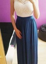 Společenské, plesové, dlouhé dámské večerní šaty