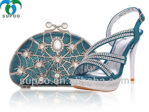 Wholesale Italian Matching Shoe and Bag Set for Party TSB999  FOB Price: US $ 39 - 59 / Set | Get Latest Price Min.Order Quantity: 1 Set/Sets Supply Ability: 10000 Set/Sets per Month