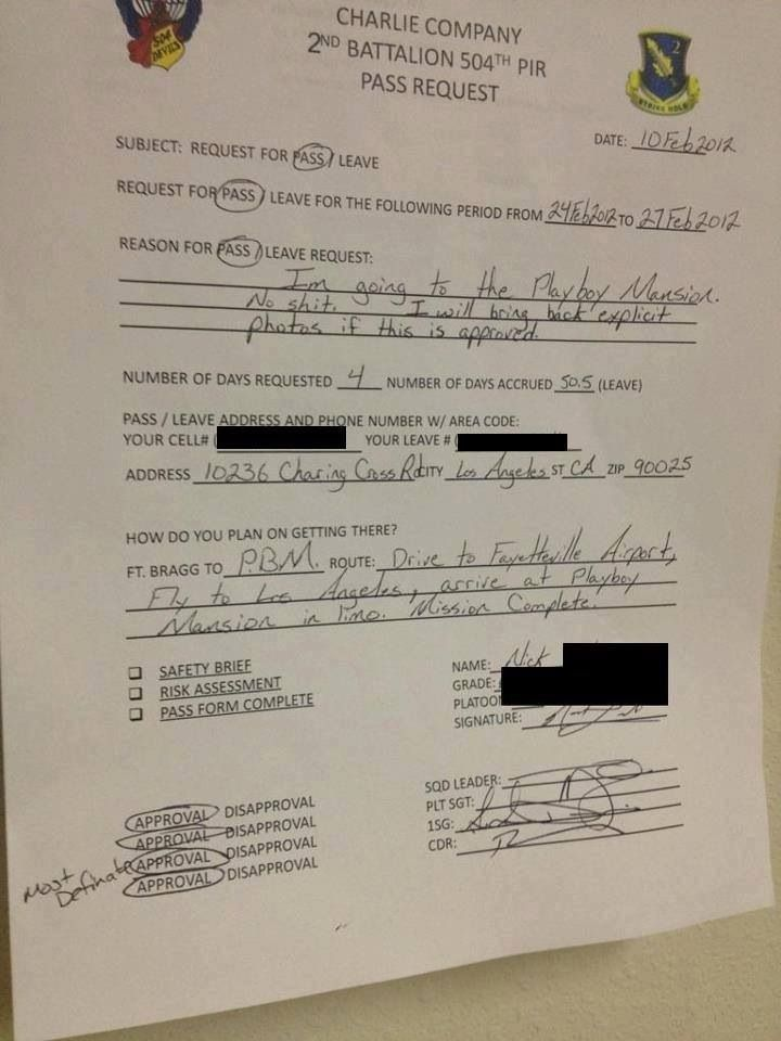 12 best US Army images on Pinterest Military humor, Funny pics - disapproval letter