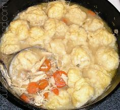 Chicken and Dumplings From Scratch