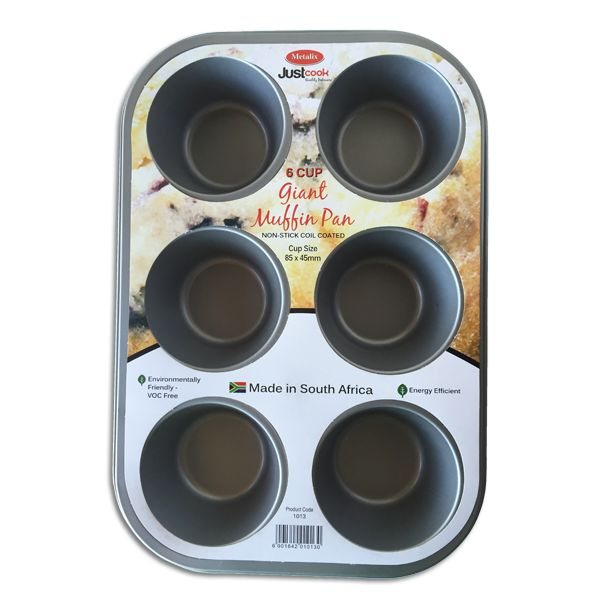 Metalix Giant Muffin Pan (6 Cup)