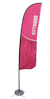 Zoom Straight Flag Stand