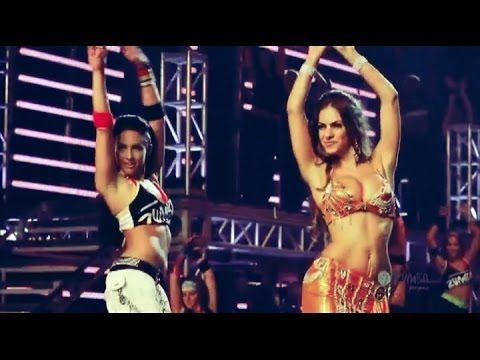 Zumba - Belly Dance | Beto Perez, Tanya Beardsley, Portia Lange - (+18) breaks down a few bellydance basics