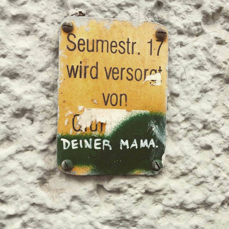 deine mudda versorgt ein Haus in Friedrichshain in Berlin