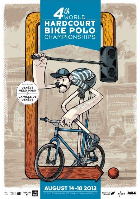 4th World HARDCOURT Bike Polo Championships  du 14 au 18 Août 2012 - Genève