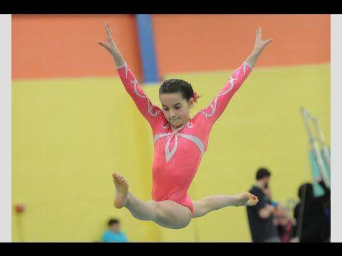 Annie the Gymnast | Level 7 State Gymnastics Meet 2015 | Acroanna - YouTube