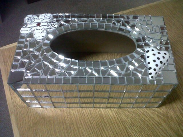 Tissue Box COver in Mosaic