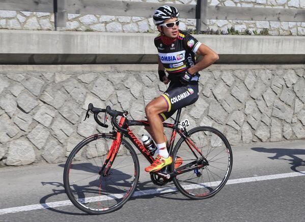 Outsiders: Fabio Duarte (Colombia - Team Colombia) #Giro