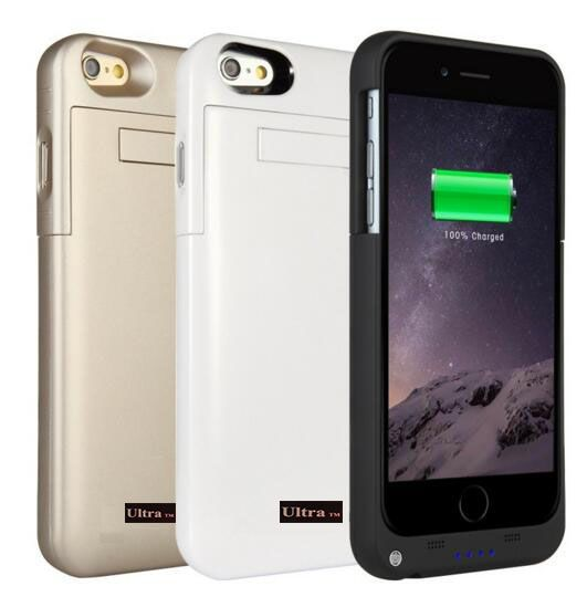 Mobile phone charging cases for iPhone 7 and 7 plus mobile phones