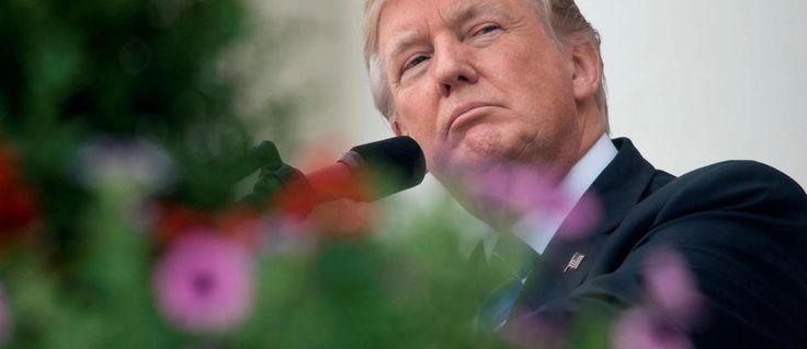 À l'occasion d'une conférence de presse avec le président roumain, Donald Trump est revenu sur le témoignage de James Comey et l'actualité internationale.