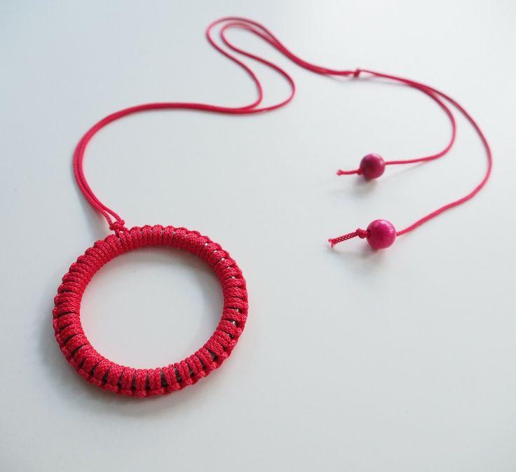 objects by brooke macramé necklace