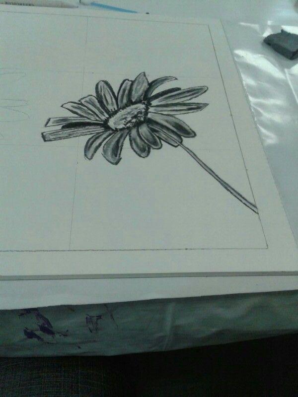 Charcoal Daisy `~`