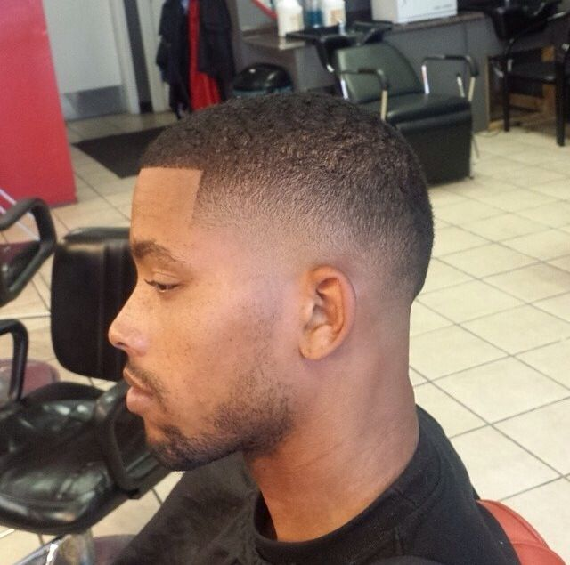 Fresh Fade Haircut for Black Man