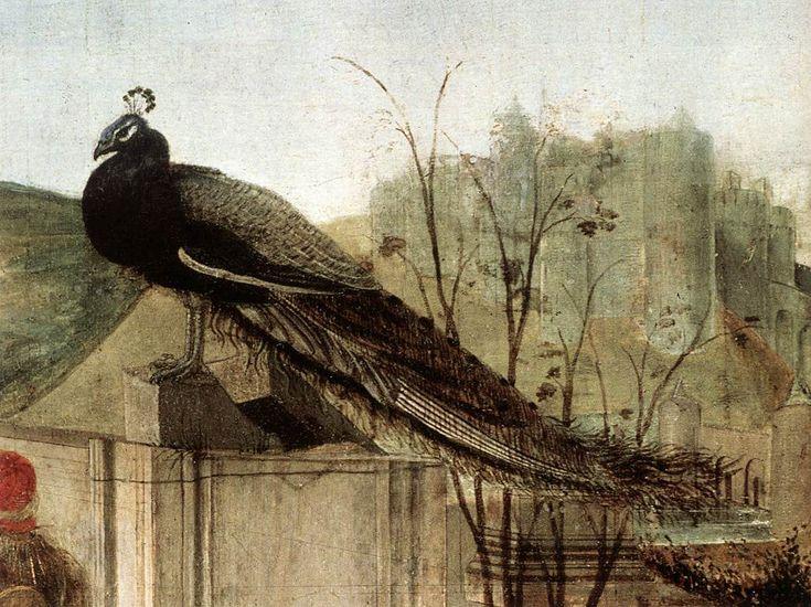 Sandro Botticelli  - Adoration of the Magi (detail):
