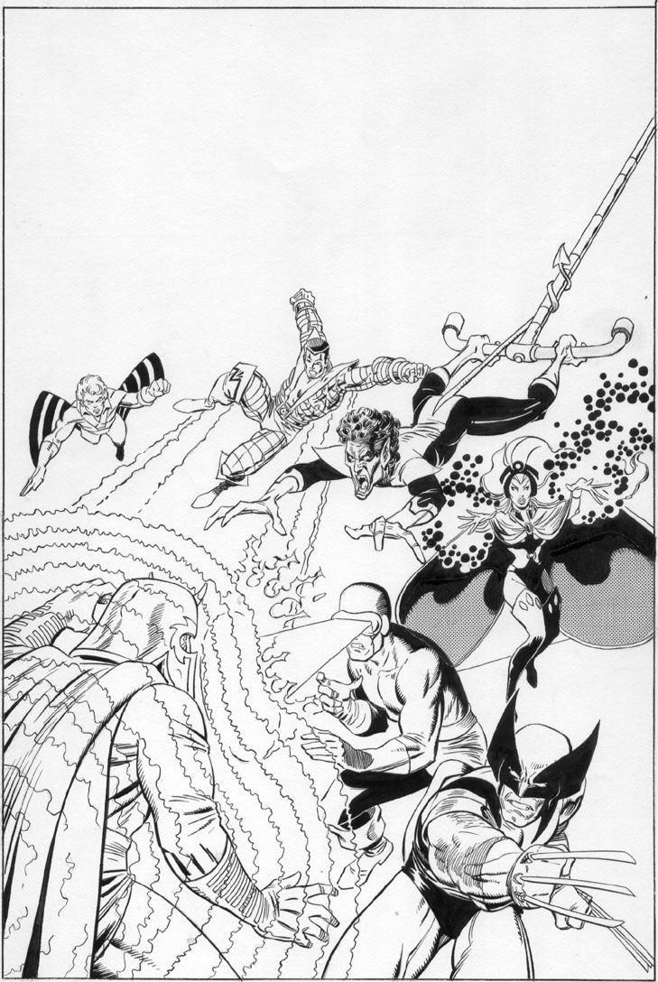 X-Men vs. Magneto - Art Adams