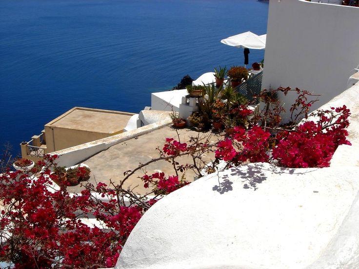 греческие острова улочка - Google Search