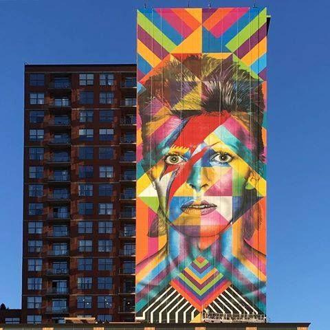 Eduardo Kobra Jersey City, USA, 2016