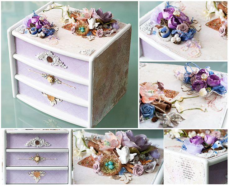 Jewelry Box / Шкатулочка for 7 Dots Studio