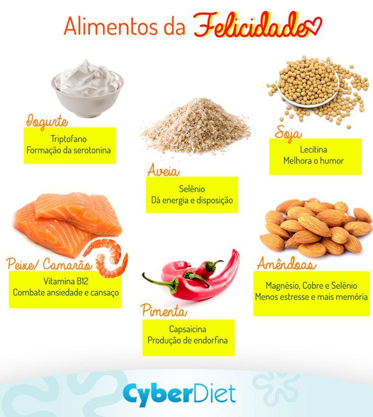 Já é comprovado que comer bem nos faz sentir mais leve e melhor! Por isso, inclua alguns desses alimentos no seu cardápio e vem com a gente celebrar o Dia Internacional da Felicidade!