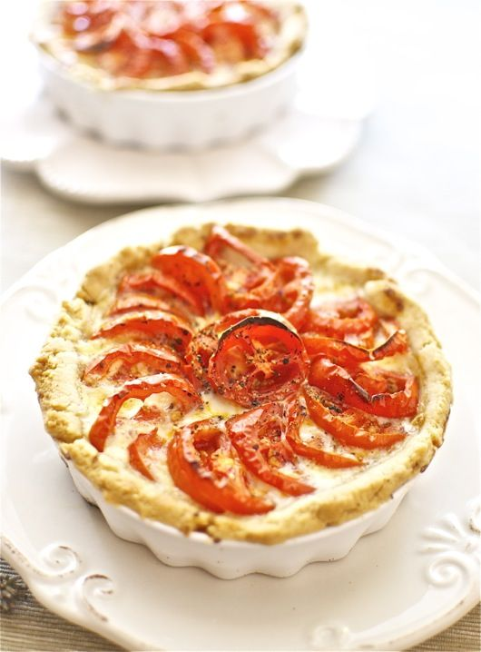 Tarta de tomates asados, receta francesa con Thermomix « Thermomix en el mundo