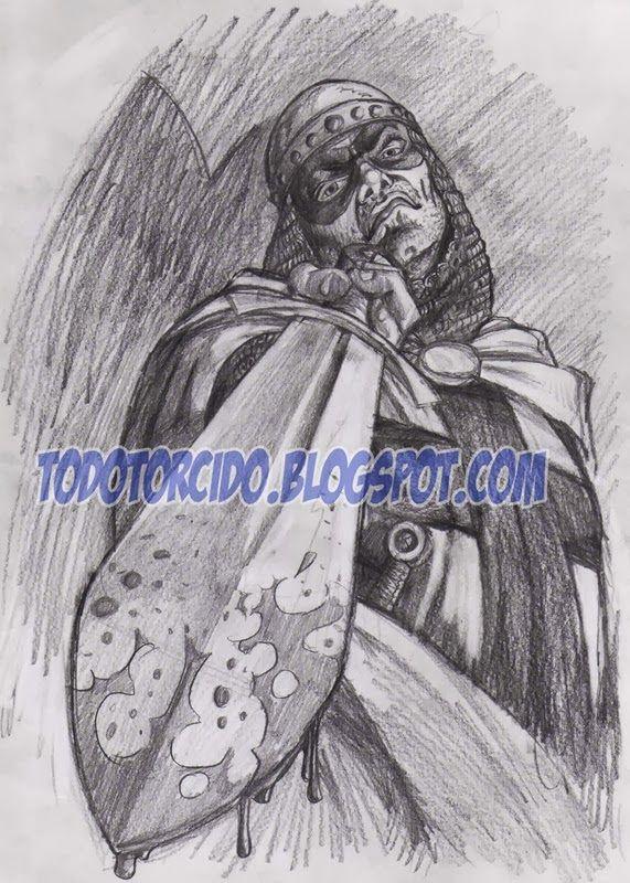 Ahora va esta impresionante ilustración de Gonzalo Álvarez:                                                              ACTUALIZACIÓN:  Vis...