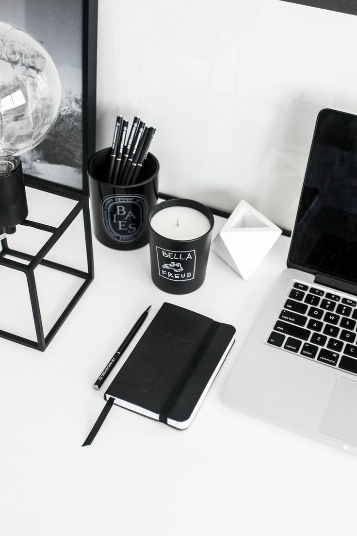 An Organised Life Pocket Notebook Setdefault Title Black Decor Aesthetic Room Decor Home Office Decor