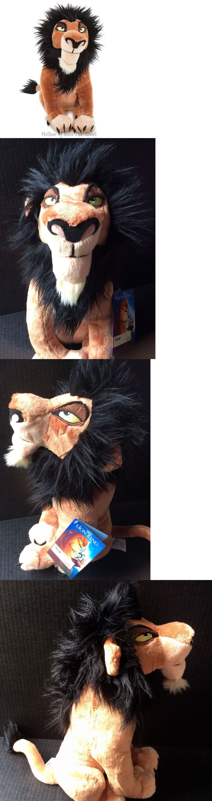 Lion King 44037: 2017 Disney Store The Lion King Scar Soft Plush Disney Villain Toy New With Tags -> BUY IT NOW ONLY: $49.95 on eBay!