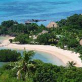 Aerial view of #NavutuStarsFiji on #Yasawa Islands #Fiji