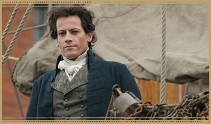 "William Wilberforce played by Ioan Gruffudd in ""Amazing Grace"" the movie. This movie is what first inspired me to learn more about this amazing man and his fight to end slavery and the slave trade."
