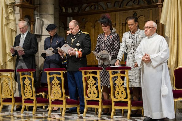 Hans-Adam II Photo - Monaco National Day 2012 - Celebration Of Mass At Cathedrale Notre-Dame Immaculee