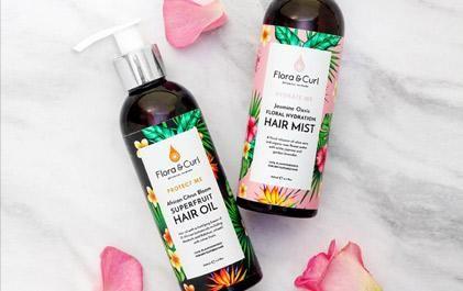 Flora & Curl Natural Haircare #greenbeauty #haircare